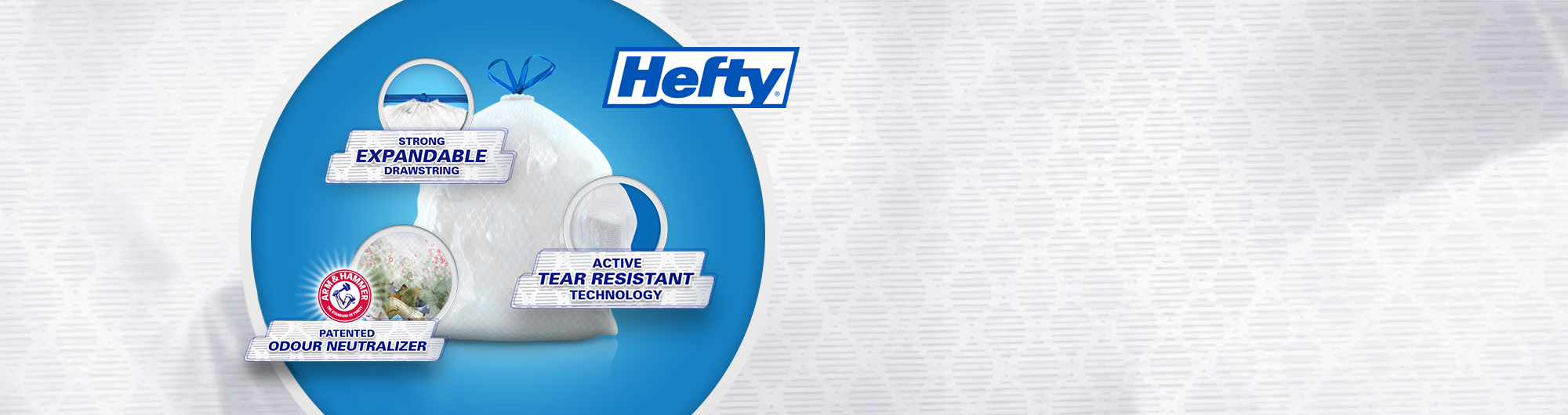 Experience the Hefty Difference